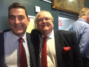 Anthony with Lord Digby Jones